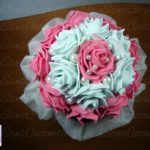 bouquet rose fommy
